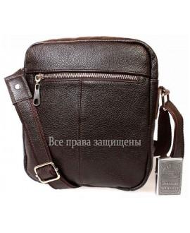 Стильная кожаная мужская сумка av-91brown в категории сумки оптом харьков барабашово