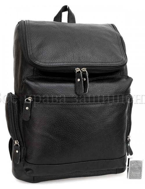 Рюкзак из натуральной кожи SKbp1017-black