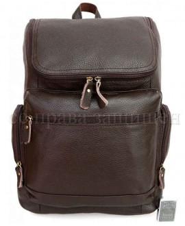 Рюкзак из натуральной кожи коричневый SKbp1017-brown