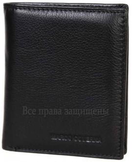 Стильный мужской кошелек двойного сложения из натуральной кожи MC-101-1-opt в категории купить оптом мужские кошельки Львов