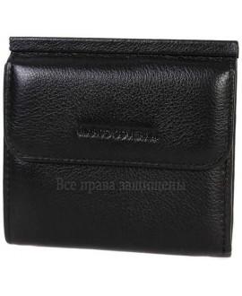 Стильный мужской кошелек двойного сложения из натуральной кожи MC-213B-1-opt в категории купить оптом мужские кошельки Днепр