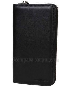Мужской бумажник для нагрудного кармана с дополнительным отделением для визиток из натуральной кожи MC-3051-1-opt в категории купить оптом мужские кошельки Львов