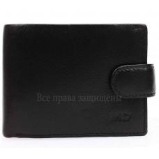 Мужской кошелек из высококачественной натуральной кожи черного цвета MD-22-407-opt в категории купить мужские кошельки оптом Львов