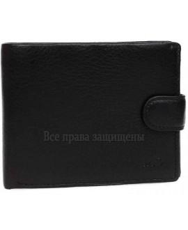 Мужской кошелек из высококачественной натуральной кожи черного цвета MD-22-538-opt в категории купить мужские кошельки оптом Харьков