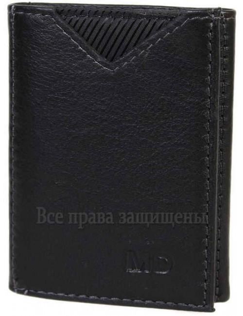 Мужской кошелек тройного сложения из натуральной кожи MD-Leather (MD-22-610-A-opt) в категории купить мужские кошельки оптом Украина