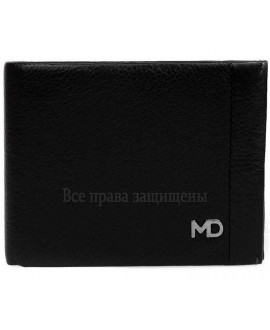 Стильный мужской кошелек двойного сложения из натуральной кожи с зажимом для купюр MD-Leather (MD-555-1A-opt) в категории купить мужские кошельки оптом Киев
