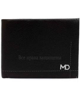 Стильный мужской кошелек двойного сложения из натуральной кожи с зажимом для купюр MD-Leather Collection (MD-555-2-opt) в категории купить мужские кошельки оптом Харьков