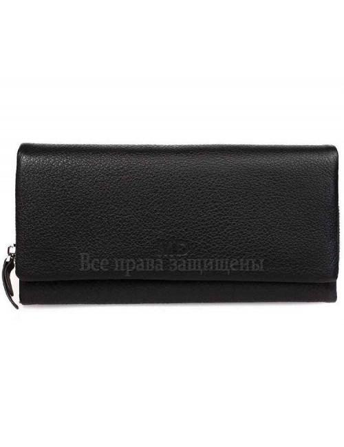 Стильный мужской кошелек для нагрудного кармана из натуральной кожи MD-600-A-opt в категории купить мужские кошельки оптом Днепр
