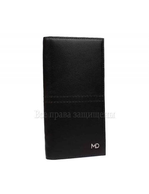 Модный мужской кошелек для нагрудного кармана из натуральной кожи MD-Leather (MD-602-A-opt) в категории купить мужские кошельки оптом в Украине
