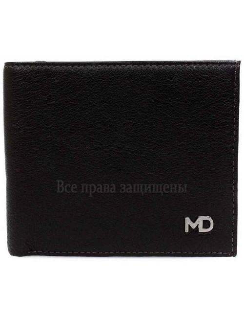 Модный мужской кошелек двойного сложения из натуральной кожи MD-Leather Collection (MD-603-А-opt) в категории купить мужские кошельки оптом Украина