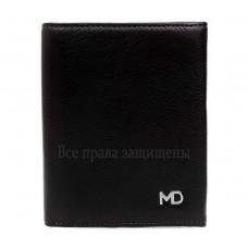 Модный мужской кошелек двойного сложения из натуральной кожи MD-Leather (MD-604-А-opt) в категории купить мужские кошельки оптом в Киеве