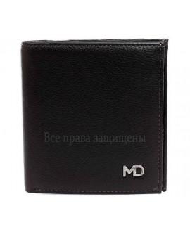 Модный мужской кошелек двойного сложения из натуральной кожи с монетницей MD-Leather Collection (MD-606-А-opt) в категории купить мужские кошельки оптом в Днепропетровске