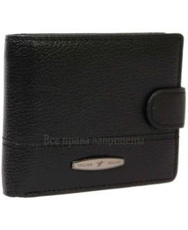 Кожаный кошелек двойного сложения для солидных мужчин Tailian Collection (T-150D-BLACK-opt) в категории купить мужские кошельки оптом Харьков