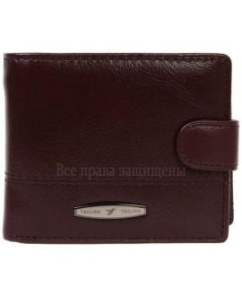 Кожаный кошелек двойного сложения для солидных мужчин Tailian Collection (T-150D-CRIMSON-opt) в категории купить мужские кошельки оптом Днепр