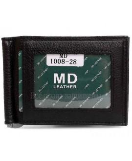 Зажим для денег из натуральной кожи для солидных мужчин MD-Leather Collection (MD-1008-28-opt) в категории купить оптом мужские кошельки Украина