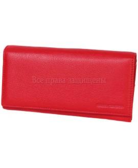 Женский кошелек из натуральной кожи красного цвета Marco Coverna (MC-2028-2-opt) в категории купить оптом женские кошельки Украина