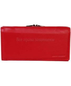 Стильный кошелек из натуральной кожи красного цвета Marco Coverna (MC-2029-2-opt) в категории купить оптом женские кошельки Украина