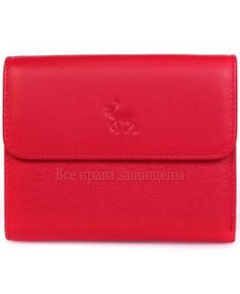 Женский бумажник из натуральной кожи красного цвета MC-2047-2-1-opt в категории купить оптом женские кошельки Харьков