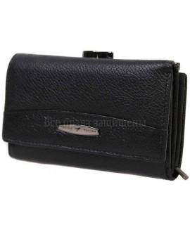 Модный кошелек из натуральной кожи T-716-BLACK-opt в категории купить оптом женские кошельки Украина