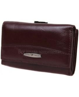 Модный кошелек из натуральной кожи T-716-CRIMSON-opt в категории купить оптом женские кошельки Киев