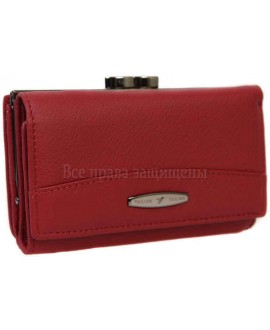 Модный кошелек из натуральной кожи T-716-RED-opt в категории купить оптом женские кошельки Днепр