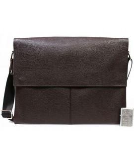 Элитная кожаная деловая сумка под ноутбук и документы формата А4 от производителя av-102brown в категории сумки оптом харьков барабашово