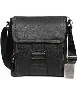 Стильная мужская кожаная сумка небольшого размера формата А5 av-4-2487 в категории сумка оптом харьков