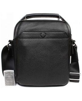 Небольшая мужская кожаная сумка с ручкой и ремнем через плечо av-10-6419 в категории кожаные сумки оптом