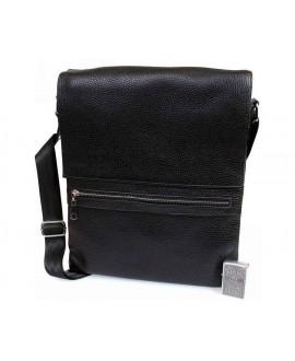 Кожаная сумка формата А4 оптом av-93black в категории сумки оптом одесса 7 км