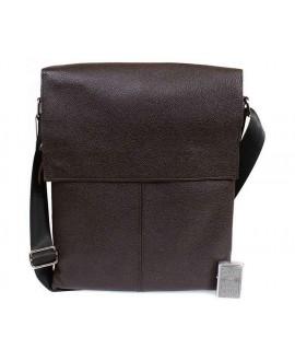 Стильная сумка из коричневой кожи формата А4 av-94brown категории мужские сумки оптом одесса