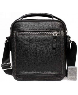 Модная кожаная мужская сумка с ручкой и ремнем через плечо av-1-0092 в категории сумка оптом харьков
