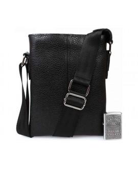 Двухсторонняя мужская кожаная сумка av-97black в категории сумки опт ком юа