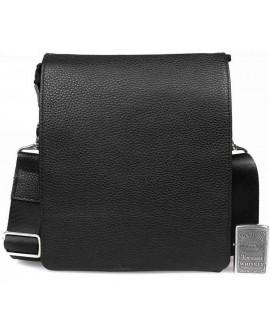 Классическая мужская кожаная сумка с клапаном из натуральной кожи av-50-0998
