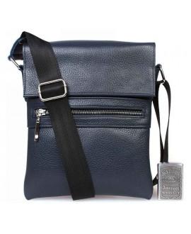Синяя сумка через плечо для мелочей av-96blue в категории сумки оптом харьков барабашово