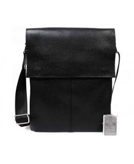 Кожаная мужская повседневная сумка через плечо от производителя av-101black в категории сумки оптом одесса дешево