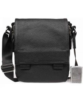Удобная повседневная кожаная мужская сумка вертикальноя av-20-7533 в категории мужские сумки оптом украина
